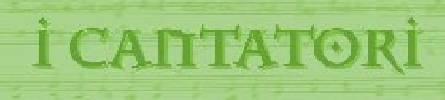 I Cantatori online